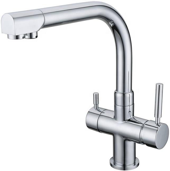 3-Wege Wasserhahn Spültischarmatur Vigo