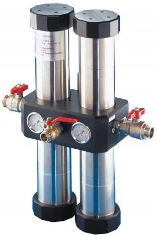 Hauswasserfilter Quadro Carbonit