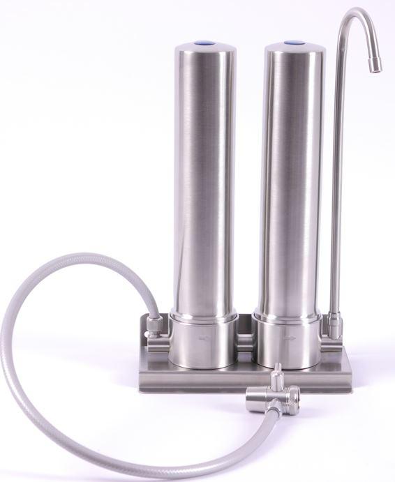 Auftisch-Wasserfilter Aquino Twin, Aqua Avanti Uno Twin