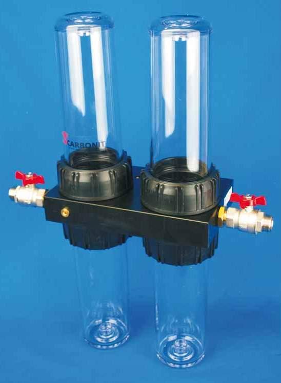 Untertisch-Wasserfilter Carbonit Quadro-HP