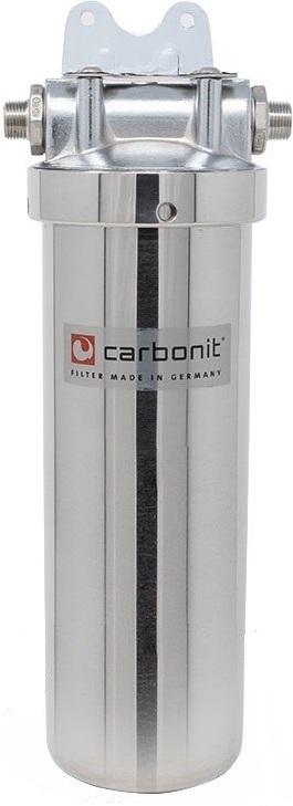 Edelstahl Untertischfilter Carbonit Vario Inox