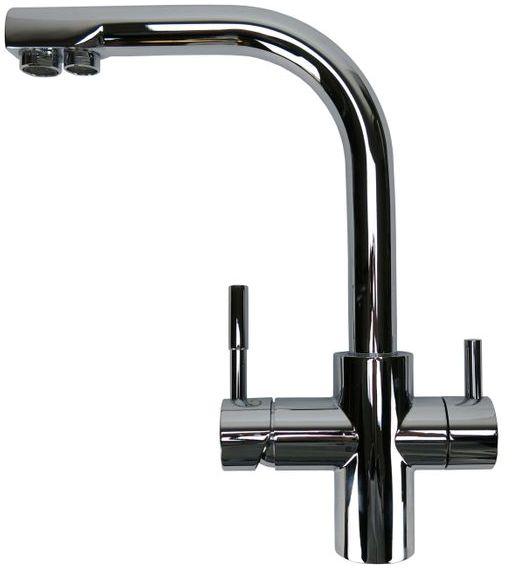 3-Wege Wasserhahn Spültischarmatur Verona