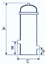 Ecocart EKF-E Mehrplatzfilter Wasserfilter Gewerbe und Industrie