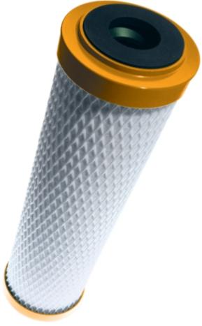 Sanuno inox nanovita DuoFlow Aktivkohle Trinkwasserfilter mit Membran