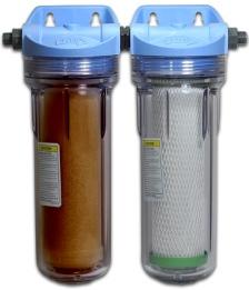 Auftischfilter und Untertisch-Wasserfilter filtern Schadstoffe aus dem Wasser