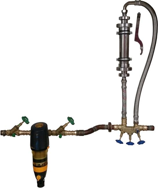 Wasserwirbler, gewirbeltes Wasser Aquawhirler AW-888