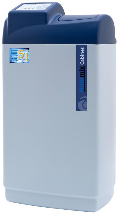 Multimix Cabinet, Kombinationsfilter für Eisen, Mangan, Kalk, Magnesium und Ammoniak