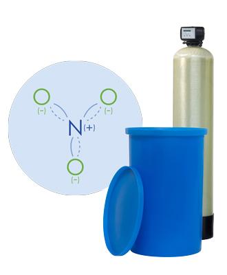 Nitrat-Entfernung, Erie No-Nitrate Nitratanlage