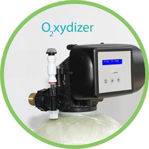 Steuerkopf vom Oxydizer Oxidizer Eisenfilter