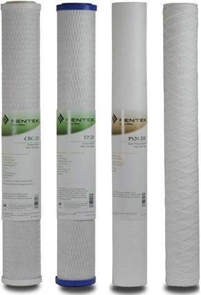 Filterpatronen, Filterkartuschen für Universal-Wasserfilter Multi 20