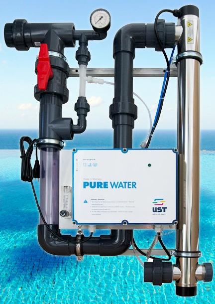 Wasserdesinfektion mikt Ozonanlage Pure O3
