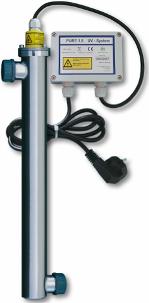 UV-Ger�t UST Pure 1.2 zur sicheren Entkeimung und Desinfektion, Installation vor dem Wasserfilter