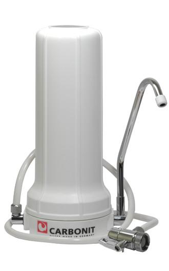 Auftisch-Wasserfilter Sanuno Carbonit