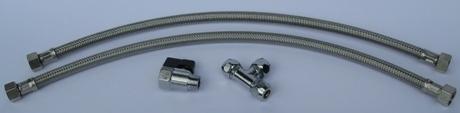 Anschluss-Set Untertisch-Wasserfilter Carbonit Vario Classic, Comfort und Universal