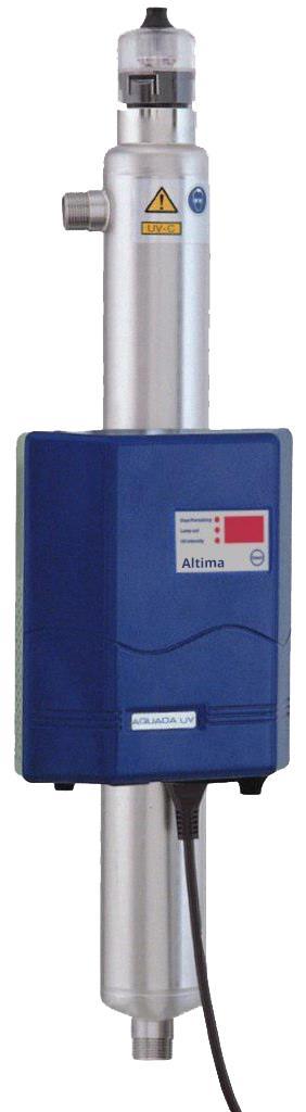 UV Desinfektion Aquada Altima und Proxima