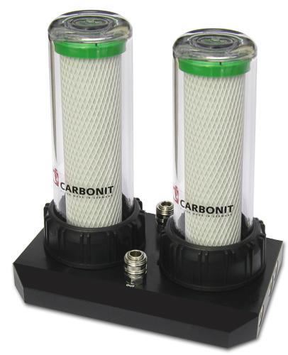 Untertischfilter Carbonit DUO HP und HS