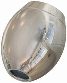 Auftischfilter Mercuro im Komplettset mit dem Wirbel-Ei