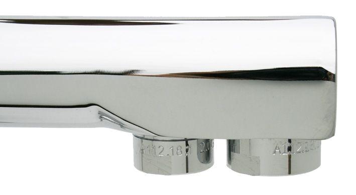 3-Wege Wasserhahn Trinus Detail Perlatoren